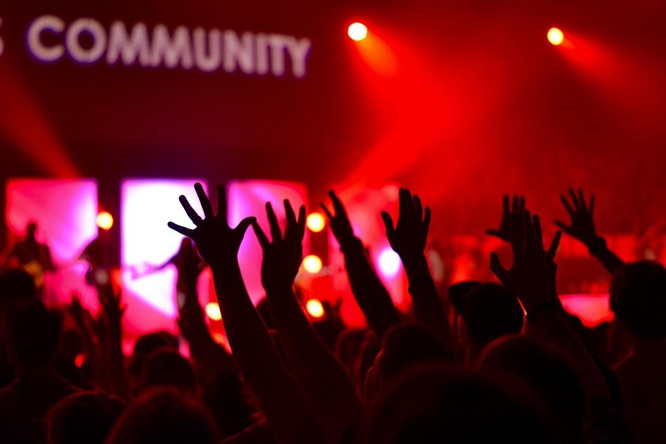 Eventfotografie für ein Konzert
